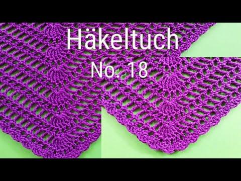 Download Halbrundes Tuch Häkeln Super Einfach Half Circle Shawl