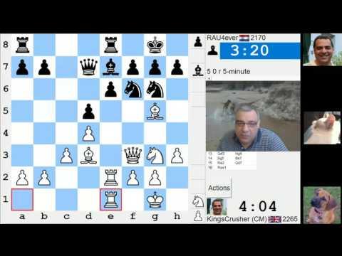 LIVE Blitz #3710 (Speed) Chess Game: White vs RAU4ever in Van't Kruijs opening