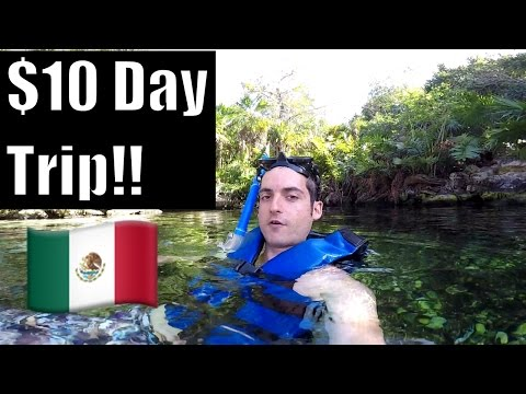 Playa Del Carmen, Mexico- Cheapest Day Trip !