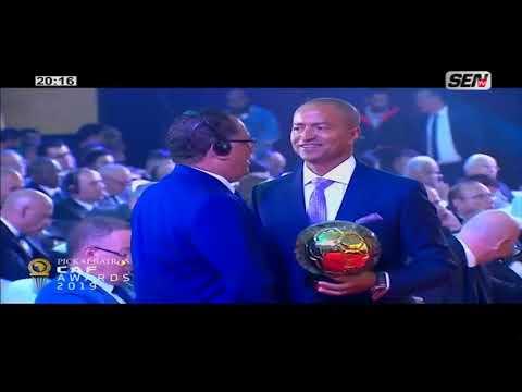 Spécial CAF Awards 2019 / Sadio Mané sacré meilleur joueur africain ... Du Mar 07 Jan 20