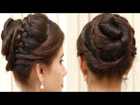 Easy Hair style for Ladies 2018