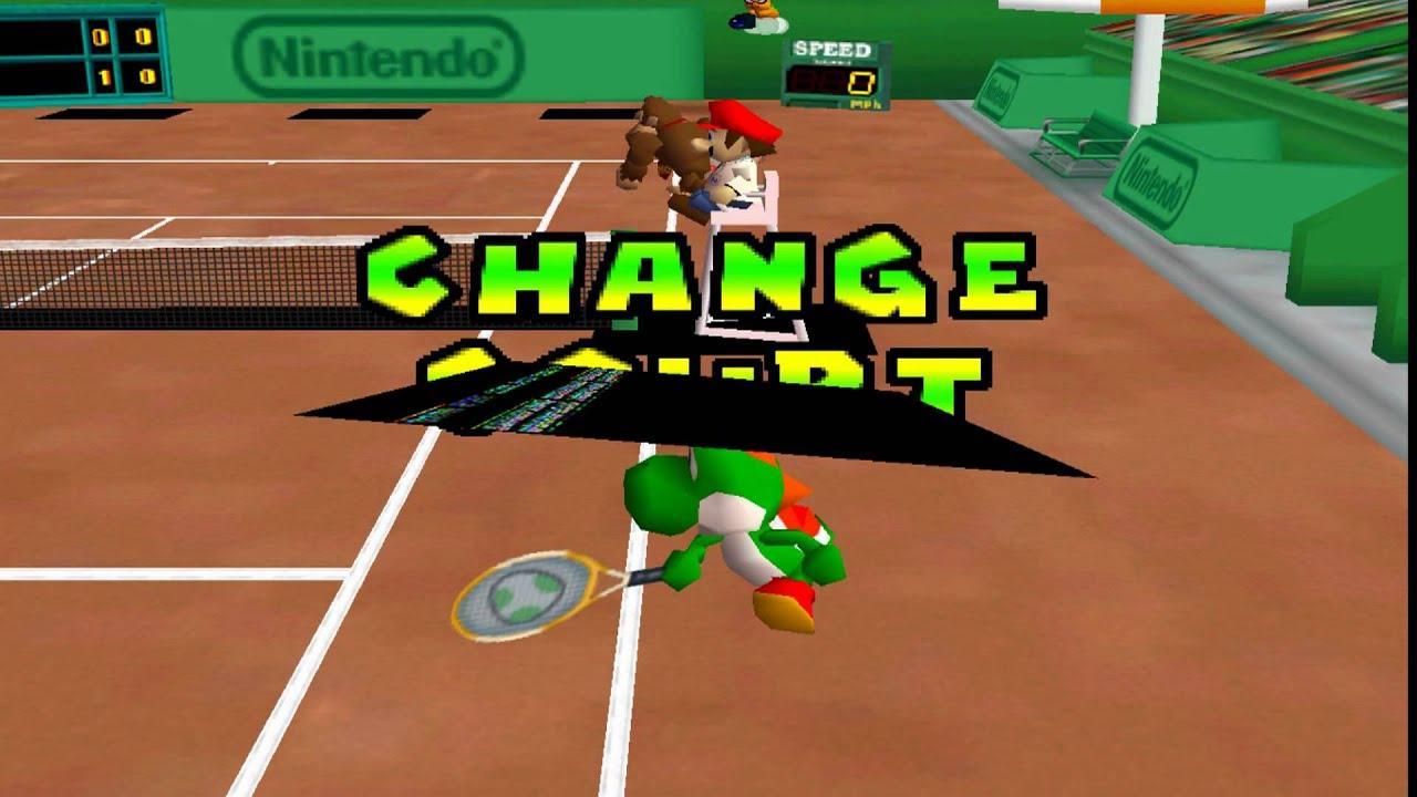 Mario Tennis 64 - Flowers Cup Final #1