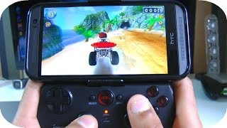 Best Android Games Console Setup - HTC One M8 with iPega Bluetooth Controller