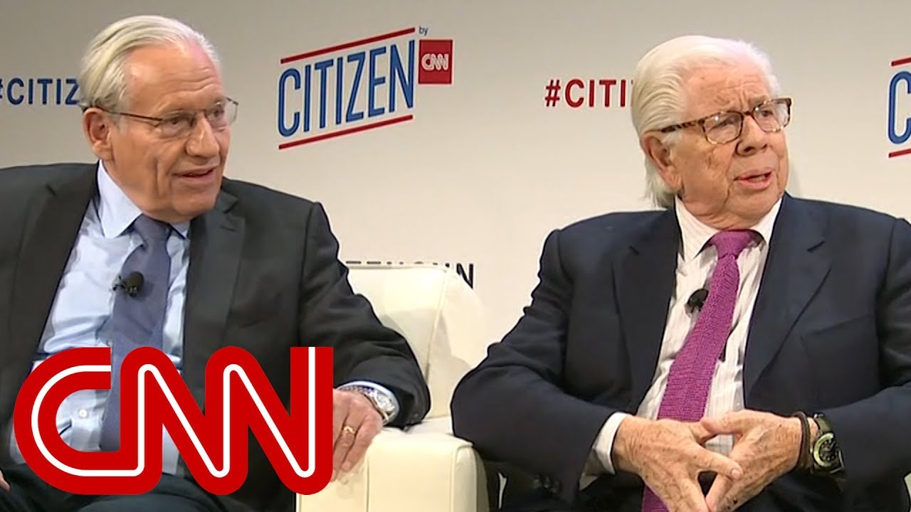 Image result for woodward and bernstein on trump