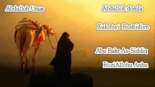 Abdulloh Domla Abu Bakr As Siddiq 1