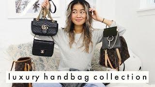 My Luxury Handbag Collection!   louis vuitton, dior, chloe, vintage and more!