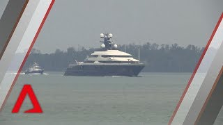 Yacht in 1MDB scandal arrives back in Malaysia
