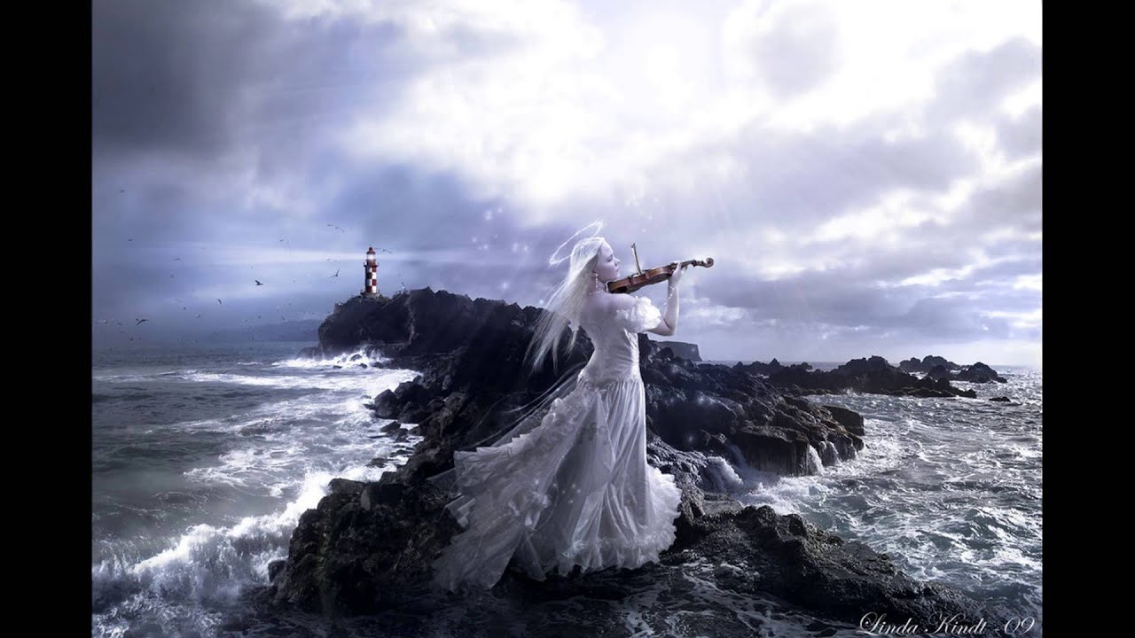 Www Alone Girl Wallpapers Com My Silent Cry Beautiful Violin Music Youtube