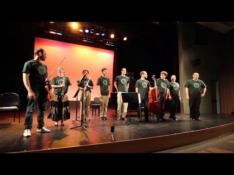 Hertz Fellows' Music - Summer Workshop, SSU 2012