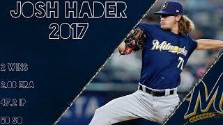 Josh Hader 2017 Highlights