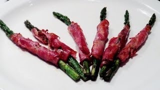 How To Make Capicola Wrapped Asparagus - (one Minute Cooking Tips)