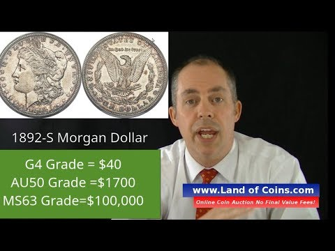 1892-S Morgan Dollar Facts And Price Value | Land Of Coins .com