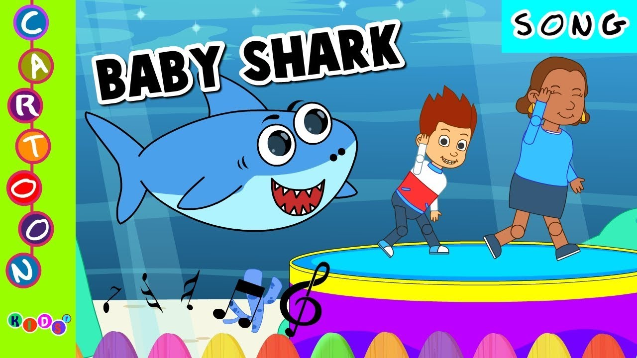 Baby Shark Dance Sing And Dance Animal Songs Kidsf