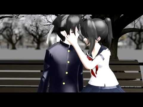 【MMD x Yandere simulator】1 thing 2 do 3 words 4 you