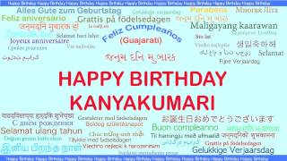 Kanyakumari   Languages Idiomas - Happy Birthday
