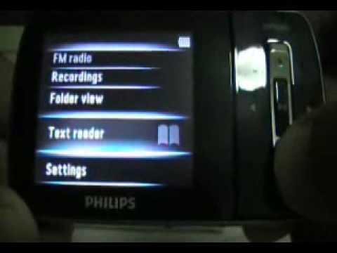 Philips SA1ARA08K/55 MP4 Player 64 Bit