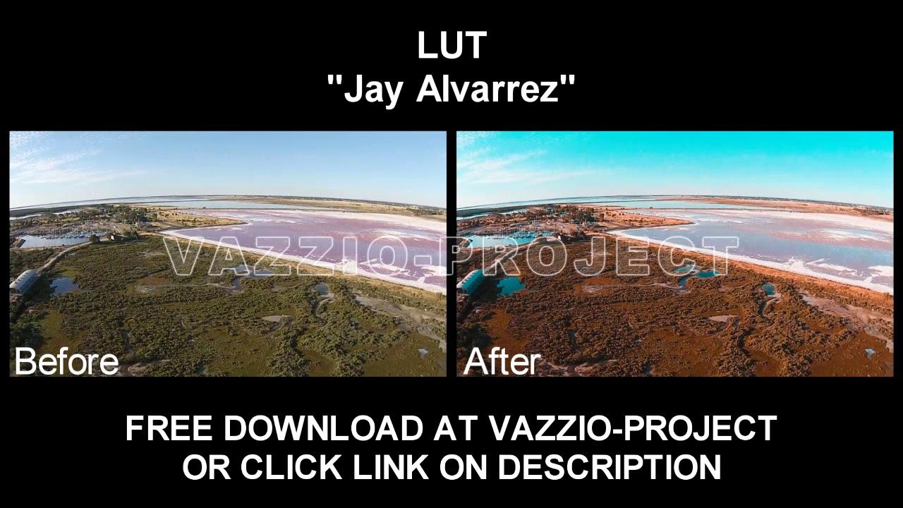 LUT Preset - Jay Alvarrez #1 Project Template - VazzioProject
