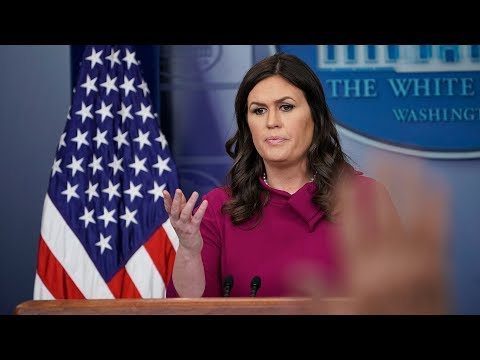 Watch Live: White House Press Briefing - March 16, 2018