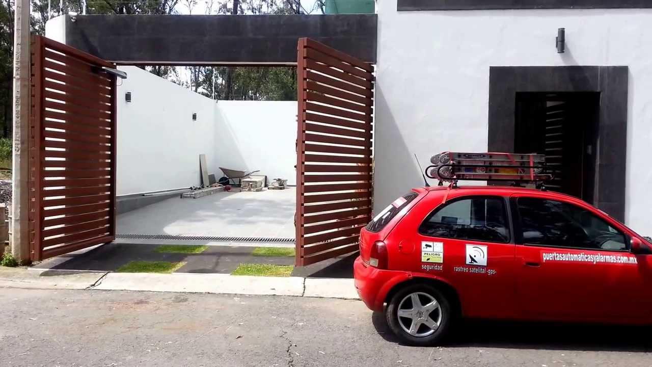 Puertas automaticas porton abatible brazos - Brazos puertas automaticas ...