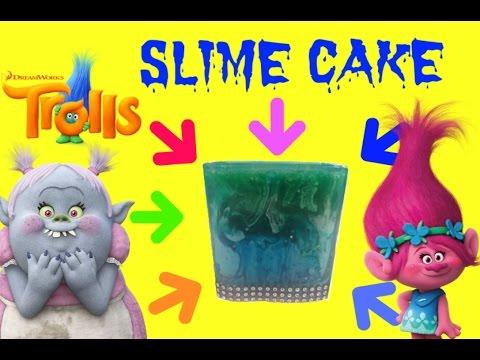 TROLLS Slime Cake for Bridget