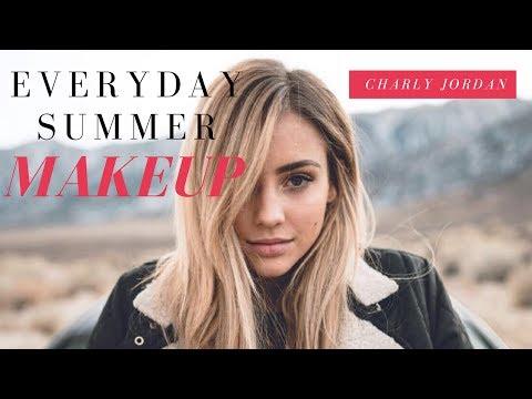 EASY GLOWY SUMMER MAKEUP TUTORIAL | LOOKS GREAT ON EVERYONE | Summer 2017 Makeup *CHARLY JORDAN*