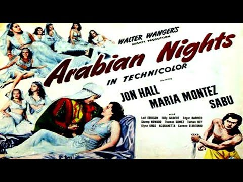 Random Movie Pick - ARABIAN NIGHTS (1942) - trailer. YouTube Trailer