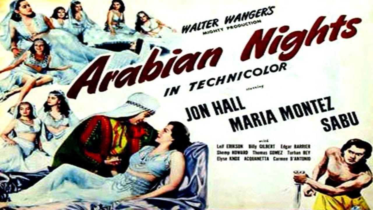 ARABIAN NIGHTS (1942) - trailer.