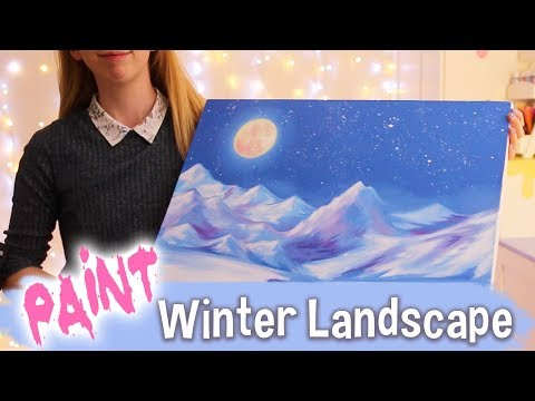 How to Paint a Winter Landscape