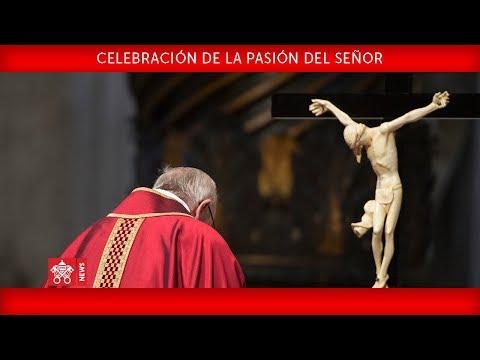 Papa Francisco - Celebración de la Pasión del Señor 2018-03-30
