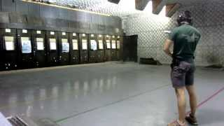 Israeli pistol shooting training session