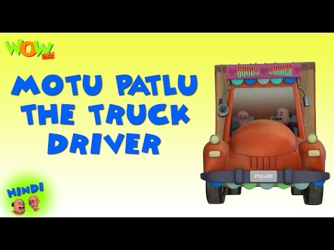 Motu Patlu The Truck Driver - Motu Patlu Hindi - ENGLISH, SPANISH & FRENCH SUBTITLES! -Nickelodeon thumbnail
