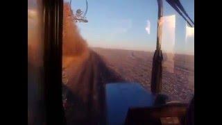 Пахота на тракторах МТЗ 892 и ЮМЗ-6 ))