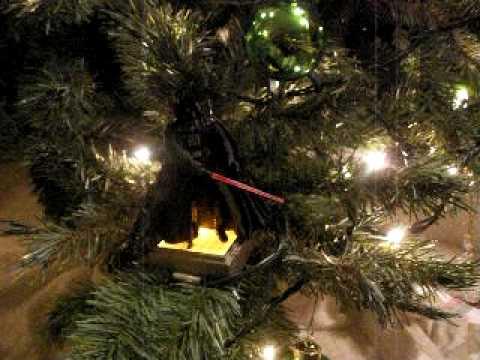 Darth Vader Christmas Tree Ornament (talking) - YouTube