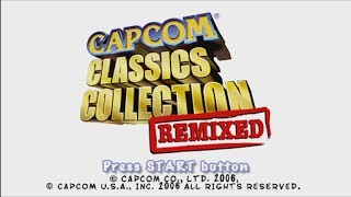 Capcom Classics Collection Remixed PSP Framemeister