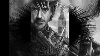 Dibujo a lápiz / Pencil drawing Sherlock Holmes
