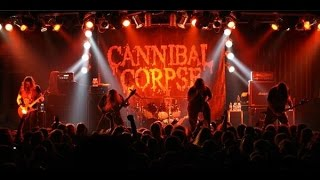 [Cannibal Corpse] live Sticky Fingers, Gothenburg, 2014-10-19 - Full show