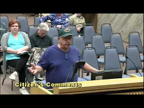 Guy Has Meltdown At City Council Meeting! Must See!
