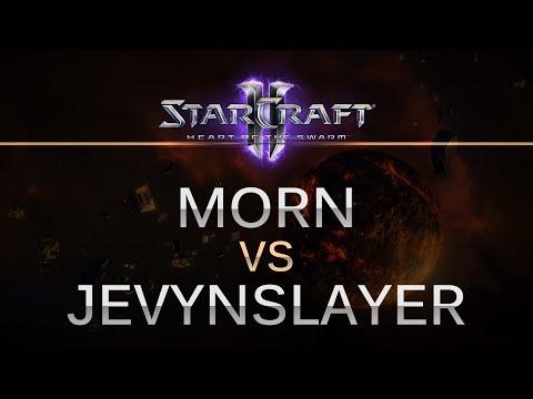 Starcraft II -- HOTS --  MorN (T) v  JevynSlayer (Z) on Code LE