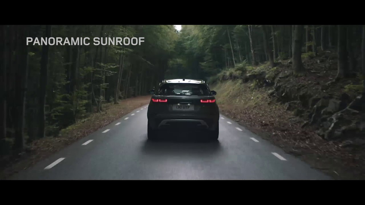 Range Rover Velar I Interior Features I Panoramic Sunroof Youtube
