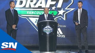 Gary Bettman Attempts To Stop Booing At NHL Draft By Bringing Out Henrik & Daniel Sedin