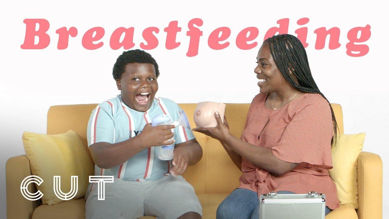 Parents Attempt To Explain Breastfeeding | Cut