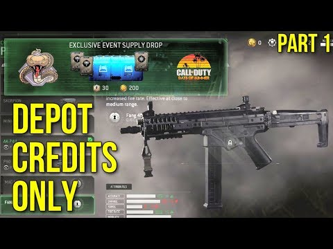 Earning New Guns w/ Depot Credits Only - Part 1 (Modern Warfare Remastered)