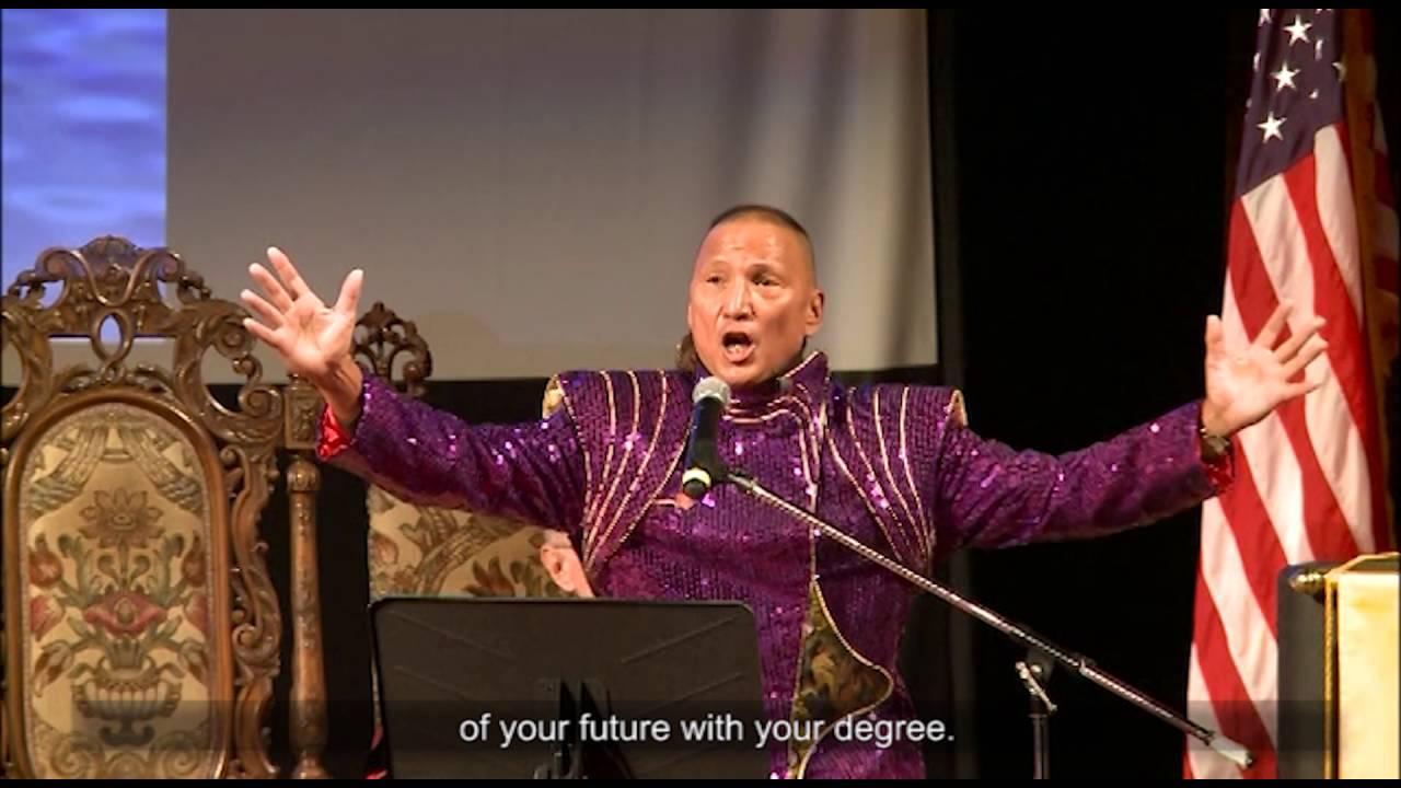 Eugene Tssui 2016 Commencement Speech at Lincoln University