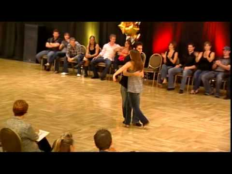 Michael Kielbasa & Tara Trafzer - 1st Place Strictly Swing, Summer Dance Camp 2010
