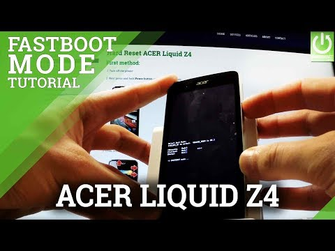How To Enter Fastboot Mode On ACER Liquid Z4 - Quit Fastboot