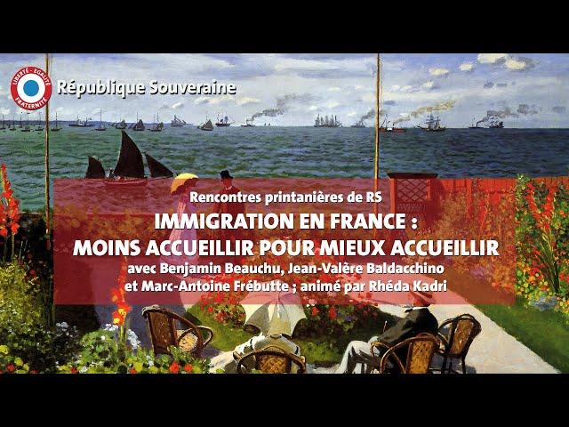 Immigration en France : moins accueillir pour mieux accueillir - RPRS #02