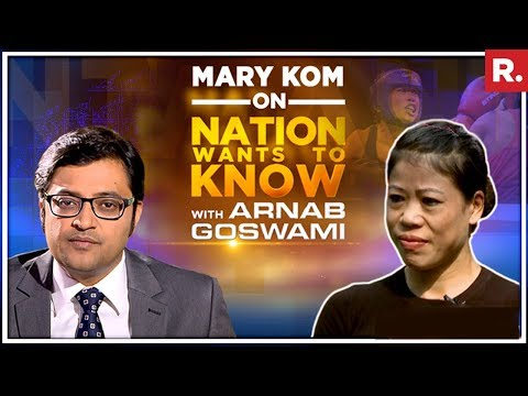 World Boxing Champion Mary Kom Opens Up To Arnab Goswami On The Nation Wants To Know | Full Episode