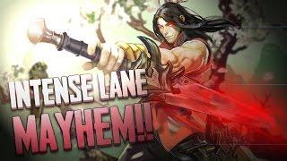Vainglory Gameplay - Episode 223: INTENSE LANE MAYHEM!! Blackfeather |WP| Lane Gameplay [1.21]