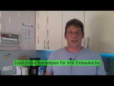 Steckdosen für ihre Küche erweitern by YT Küchen Channel