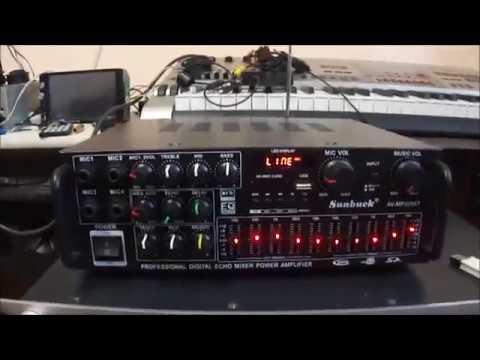 Китайский SUNBUCK AV-MP326BT
